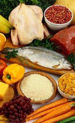 غذای سالم برای افزایش ضخامت مو