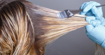 درمان موهای آسیب دیده بر اثر رنگ شدگی