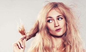 آسیب مو بر اثر خشکی بیش از حد