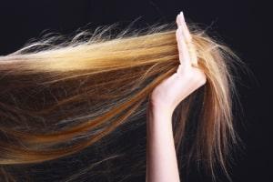 تاثیر نرم کننده برای مو های بلند